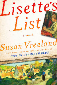 Cover for: Lisette's List, novel by Susan Vreeland