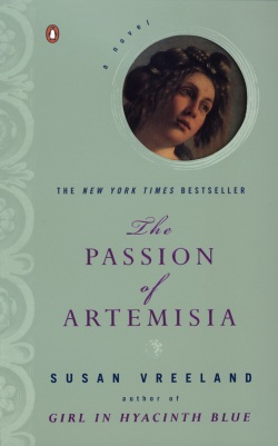 Cover for: Passion of Artemisia by Susan Vreeland