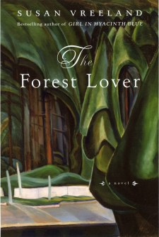 Susan Vreealands: The Forest Lover Cover