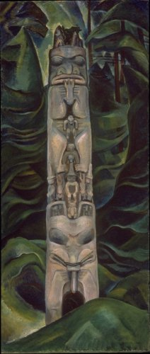 Emily Carr: Totem and Forest. Vancouver Art Gallery    -- Photo rights pending.