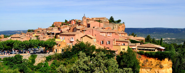 Roussillon France photo by Marcia M. Mueller
