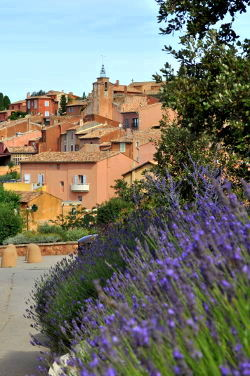 Rousillon is designation as One of the Most Beautiful Villages in France: Photo Copyright Marcia M. Mueller