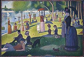 Seurat Sunday Afternoon on the Island of the Grande Jatte