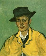 VanGogh Portrait of Armand Roulin