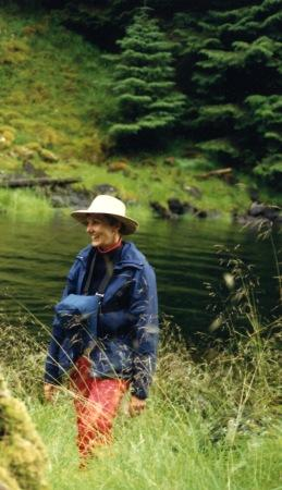 Sue in Queen Charlotte Islands